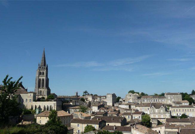 Vue panoramique de Saint Emilion